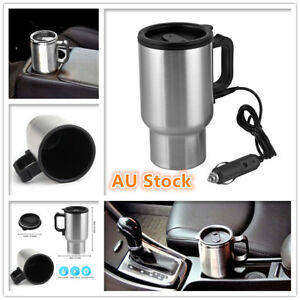 Car-Heated-Travel-Mug-12V-Stainless-Steel-Thermal-Mug-Travelling-Camping-Outdoor