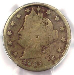 1885-Liberty-Nickel-5C-PCGS-Very-Good-Details-VG-Rare-Date-Certified-Coin