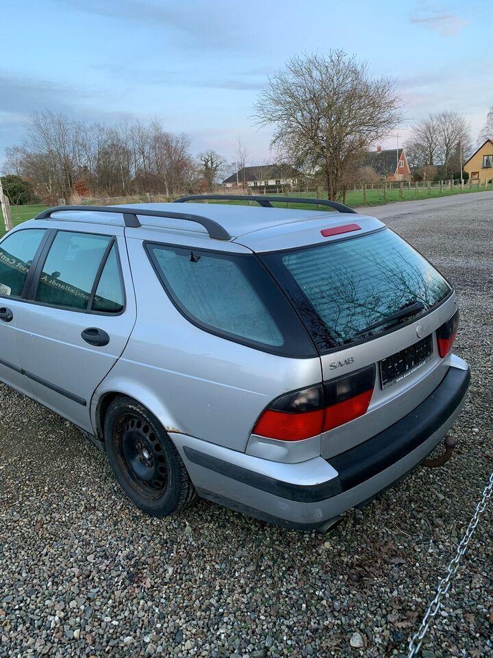 Saab 9-5, 2,3 Turbo 170 stc., Benzin
