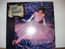 LINDA RONSTADT - WHAT'[S NEW - 1983  - VINYL LP -  ASYLUM RECORDS ORIGINAL LINER