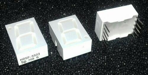 Display HP HDSP-5503 High Efficiency Red 14,2 mm Common cathode LED 7Segm 3pcs