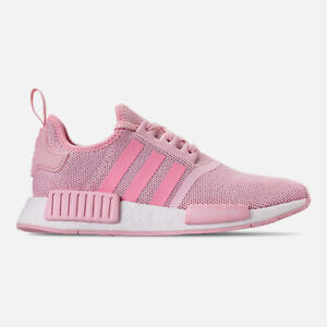 Adidas-NMD-R1-J-G27687-Pink-White-Youth-Boost-Running-Training-Shoes-NEW-IN-BOX