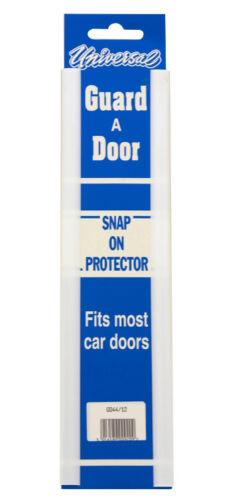 """Car Door Edge Protector Strip 2 x 12/"""" Door Protector White"""
