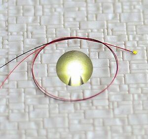 S805-10-PEZZI-SMD-LED-0603-bianco-caldo-con-cavo-microlitze-FINITO-saldato