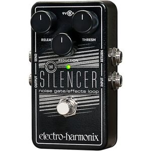 Electro-Harmonix-Silencer-Noise-Gate-Guitar-Effects-Pedal