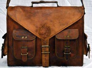 NEW-Men-Business-Leather-Handbag-Briefcase-Shoulder-Messenger-Satchel-Laptop-Bag