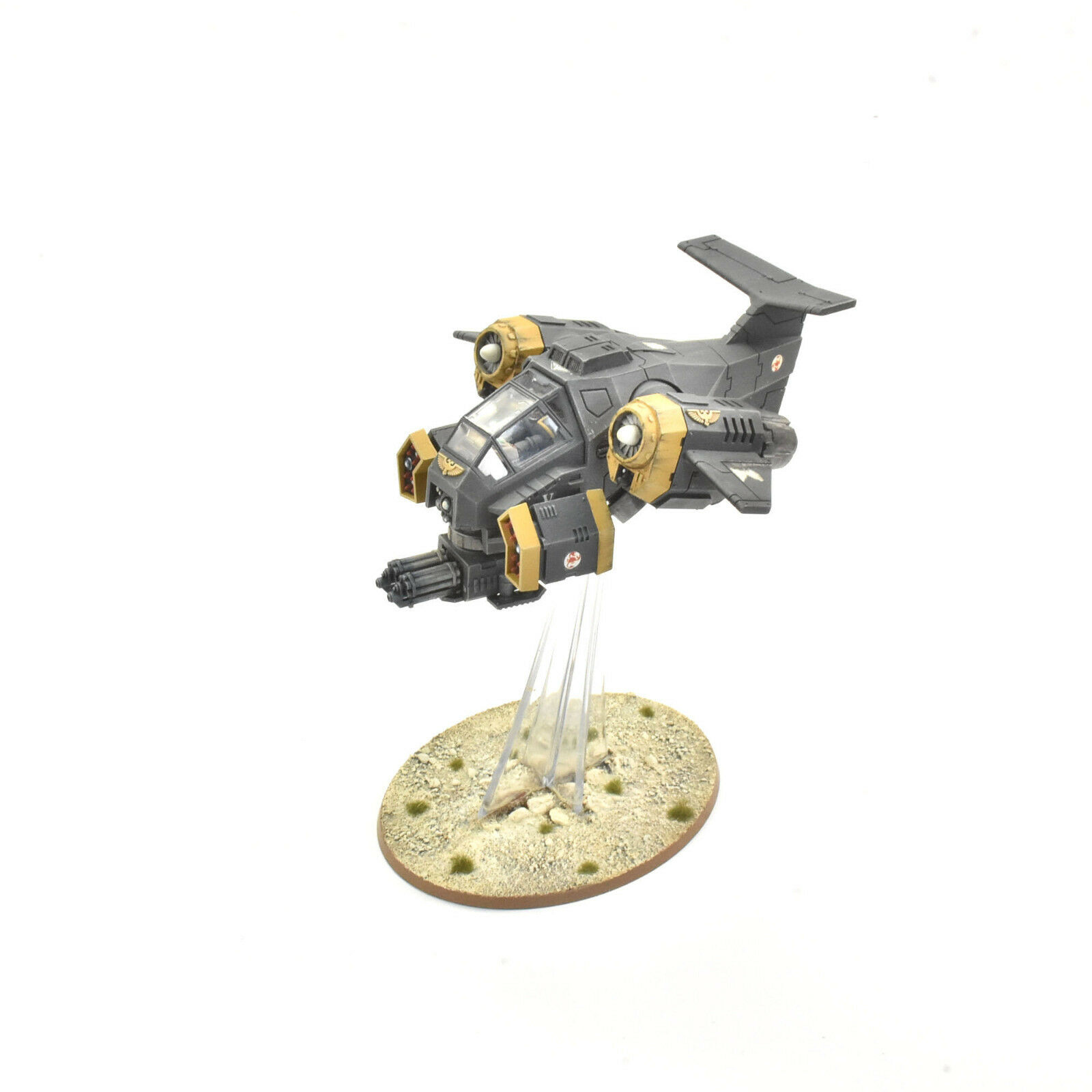 SPACE MARINES Stormtalon gunship congreened PRO PAINTED 40K Red Scorpions army