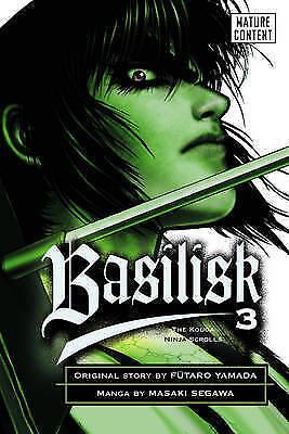 1 of 1 - Basilisk volume 3: v. 3, Segawa, Masaki | Paperback Book | Good | 9780099504740