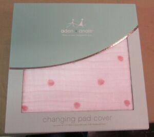aden 84cm x 42cm anais classic changing mat cover lovebird 100/% cotton muslin
