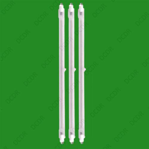 3x 400 w Riscaldatore Alogeno Ricambio Tubi 242mm Fire BAR RISCALDATORE LAMPADA LAMPADINA elemento