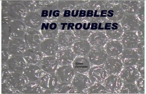 EXTRA  LARGE BUBBLES  AIR WRAP  300 MM.WIDE~12 METER LONG ULTIMATE PROTECTION