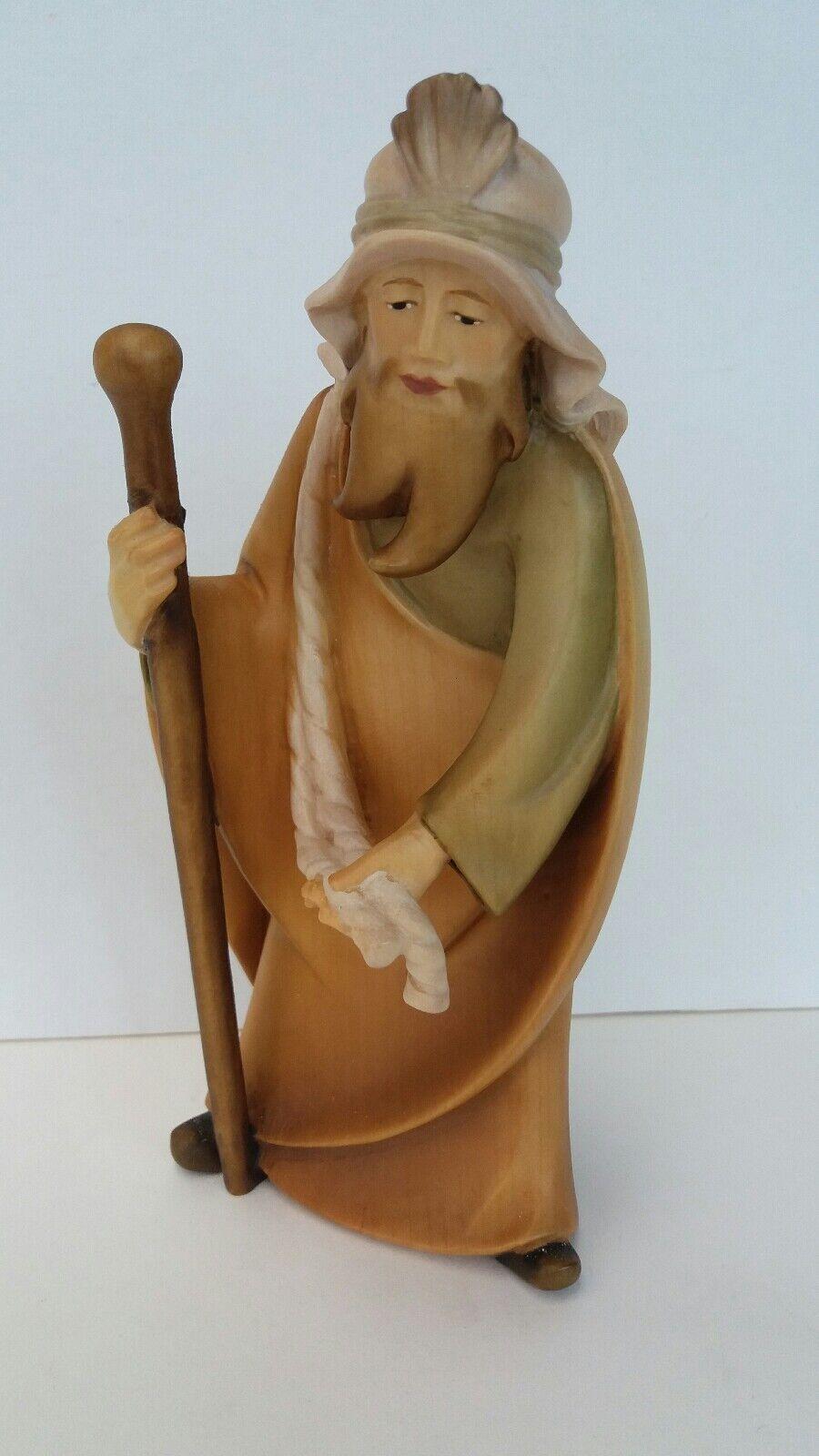 Main en bois sculpté italienne Nativité 16 cm-supplémentaire Figure-Camel Driver 16 cm