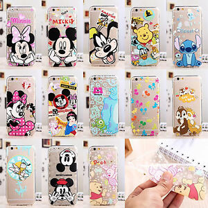 Cute-Cartoon-Mouse-Soft-Crystal-Clear-Phone-Case-Cover-for-iPhone-Samsung-Galaxy