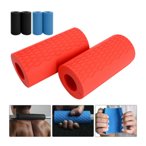 Thick Fat Barbell Silicone Grips Home Arm Wrap Bar Dumbbell Grip Weight Lifting