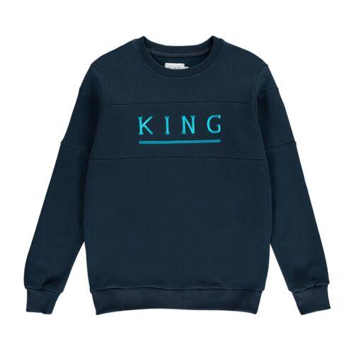 M 2XL 4XL XL NEUF L King Apparel Shadwell Sweat-shirt-Encre-S 3XL