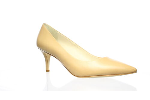 Cole Haan Womens Vesta Nude Leather Pumps Size 8.… - image 1