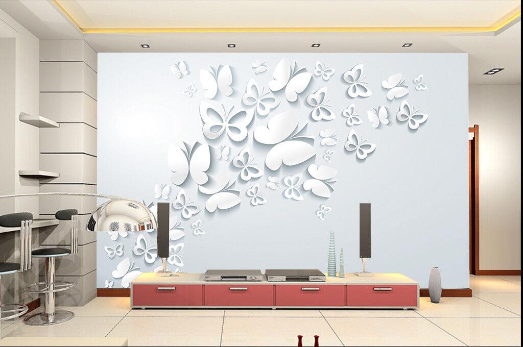 3D Butterfly 413 WandPapier Murals Wand Drucken WandPapier Mural AJ WandPapier UK