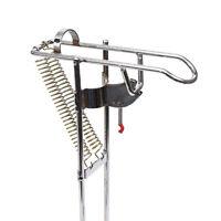 Fishing Rod Holder Bracket With Automatic Tip-up Hook Setter Adjustable