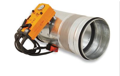Brandschutzklappe verzinkt Nennweite 100-315 mm Feuerschutz DN 250 mm