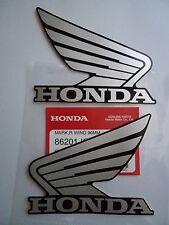 GENUINE Honda CRF CBR CBX CM XR VTR CBF VFR Decal Sticker SILVER / BLACK
