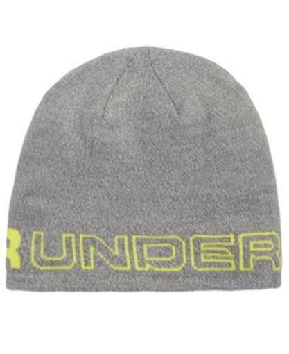 Under Armour Gray Green One Size ColdGear Woodmark Knit Beanie Hat  045 for  sale online  cca739e308f8