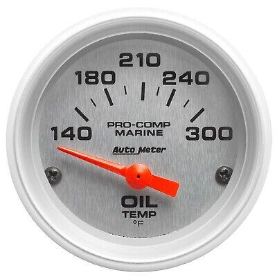 Auto Meter 4347 Ultra-Lite Electric Oil Temperature Gauge
