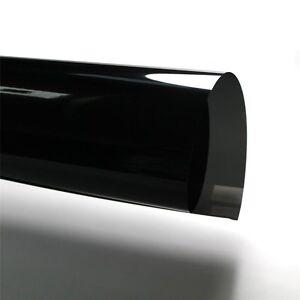 KFZ Tönungsfolie meterware schwarz 95/% 600 x 76 cm mit ABG passend für Kombis