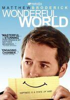 Wonderful World 2009 Bluray Disc Matthew Broderick Drama Romance Sealed R