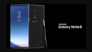 Unlocked Samsung Galaxy Note 8 256GB SM-N950 S K L Black Blue Gray