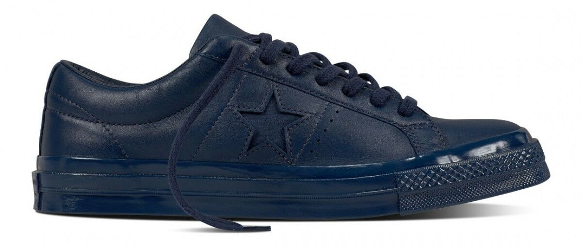 NIB  90 Converse One Star 74 Ox Athletic Navy Mono 155714C US Uomo 8.5