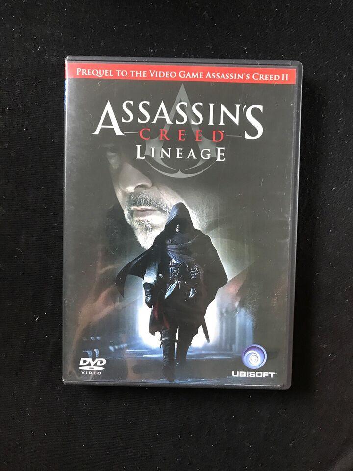 Assassin S Creed Lineage Dvd Dba Dk Kob Og Salg Af Nyt Og Brugt