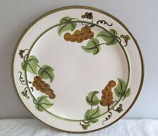 """STANGL PATTERN GOLDEN GRAPE 10 1/8"""" DINNER PLATE MINT"""