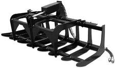 NEW ROOT GRAPPLE SKID STEER LOADER FOR BOBCAT MINI MT50, MT52, MT55,463 grappler