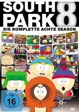 3 DVDs * SOUTH PARK - DIE KOMPLETTE 8. STAFFEL # NEU OVP +
