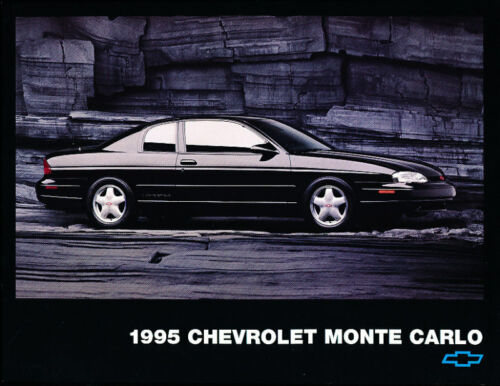 1995 Chevrolet Monte Carlo Sales Brochure Fact Sheet