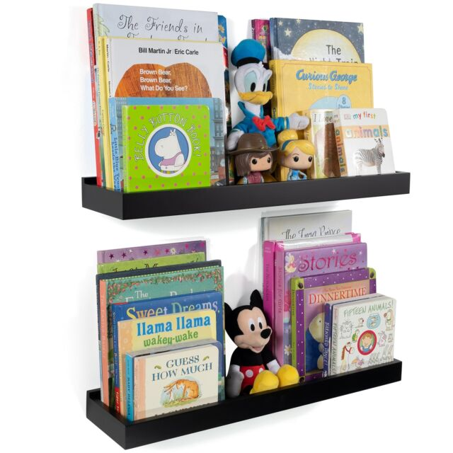Wallniture Nursery Room Wall Shelf Floating Book Shelves Decor For Kids