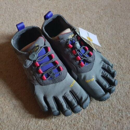 Vibram FiveFingers Women's Trek Ascent 15W4703 UK 5 EU 38 Dark Grey/Lilac BNWT