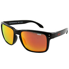 New Polarized 8834 Black Frame Revo Red Mirror Lens Sunglasses