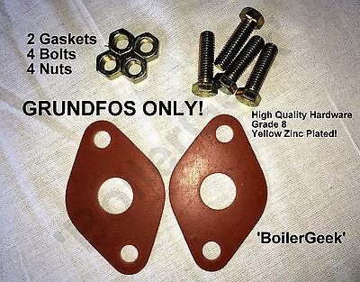 GRUNDFOS circulator flange gaskets GRUNDFOS circulator pump /'O/' Rings seal 2