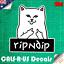 3M Film Grumpy Cat Middle Finger Decal Sticker Car Luggage Skateboard 100mm