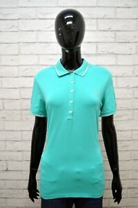 Maglia-Polo-Donna-CONTE-OF-FLORENCE-Taglia-L-Camicia-Manica-Corta-Shirt-Woman
