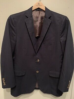 Brooks Brothers Fleece Corduroy Blazer Jacket Blue Lined Buttons 100/% Cotton XL