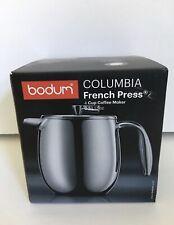 BODUM Columbia 11055-16 4 Cups French Press Coffee Maker 17 oz.