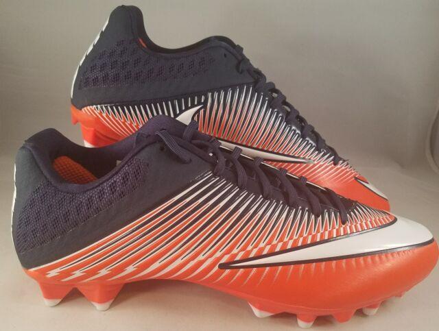 e2f06a378b5 Nike Vapor Speed 2 TD Football Cleats Men s Size 13 Orange Navy 846805-806  NEW