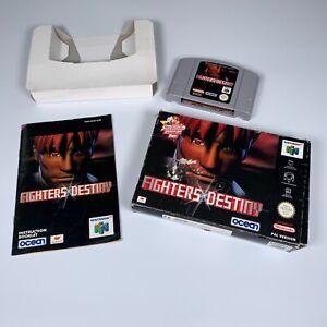 Fighters DESTINY. N64 Nintendo 64 Juego. en Caja.