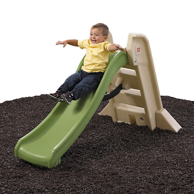 BRAND NEW Step2 Big Folding Indoor Outdoor Slide Childrens Kids Playground