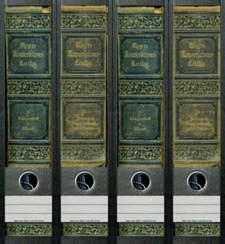 File Art AJ048 Design Etiketten Ordnerrückenschilder Lexikon