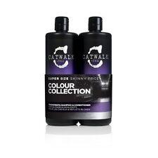 TIGI Catwalk Fashionista Violet Shampoo & Conditioner 750ml Tween