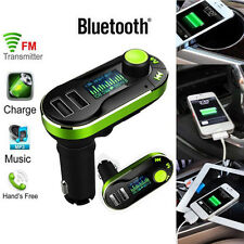 Wireless Bluetooth trasmettitore FM Kit Auto MP3 Lettore Musicale LCD