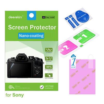 Protección de cristal blindado diapositiva para Sony Cyber-shot dsc-wx300//wx350 mate tanques diapositiva